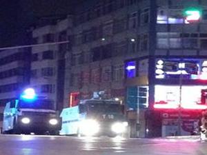 Kadıköy'de toplanan gruba polis müdahalesi