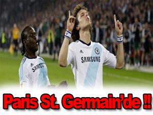 David Luiz Paris St. Germain'le anlaştı
