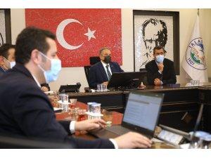 KCETAŞ'ın 2021 Talas yatırımları ele alındı