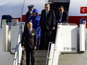 Erdoğan Almanya'dan ayrıldı