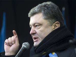 'Çikolata Kral' Ukrayna'nın yeni lideri