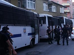 Polis Okmeydanı'nı abluka altına aldı!