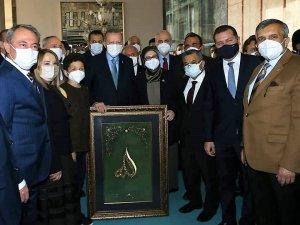 Cumhurbaşkanı Erdoğan, Çoban Şevki ile bir araya geldi