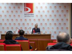 Üniversitede 'Eğitim Kalitesi' toplantısı yapıldı