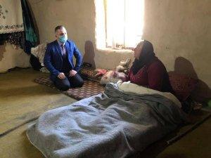Kaymakam Solmaz hasta, engelli ve yaşlı vatandaşlarla bir araya geldi