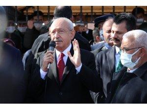 """CHP lideri Kılıçdaroğlu: """"Bizim ülkemizde insanımız çalışmak istiyor"""""""