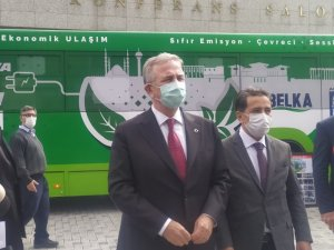 Ankara Büyükşehir Belediyesi yüzde 100 elektrikli otobüs dönüşümünü gerçekleştirdi