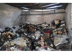 Gazetecinin yanan evini belediye temizledi