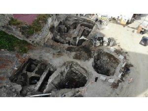 Yerin 4 metre altında çıktı, Roma dönenime ait olduğu belirlendi