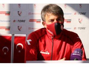 """Reha Erginer: """"İki takım için de 6 puanlık maçtı"""""""