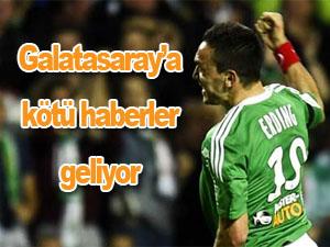 Galatasaray'a Mevlüt'ten kötü haber
