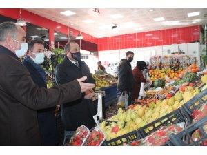 MHP İl Başkanı Karataş, esnafı yalnız bırakmadı