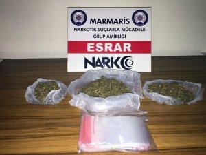 Filyasyon ekibinin şoförü uyuşturucu satarken yakalandı