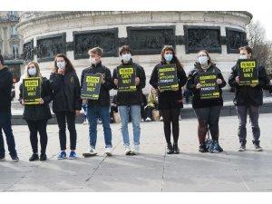 Fransa'da Suudi Arabistan'a yapılan silah satışı protesto edildi