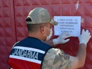 Rize'de 1 köy, 4 hanede karantina kararı alındı