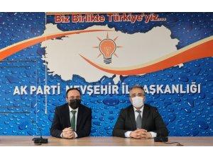 Başkan Savran, AK Parti İl Başkanı Kemikkıran'a hayırlı olsun ziyaretinde bulundu
