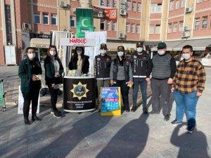 """Erzincan'da """"Narkorehber"""" faaliyetleri devam ediyor"""
