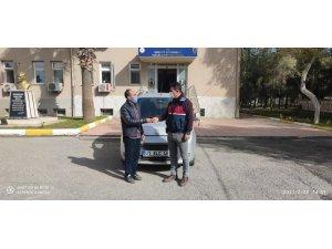 Jandarma oto hırsızlarını 67 kamerayı inceleyerek yakaladı