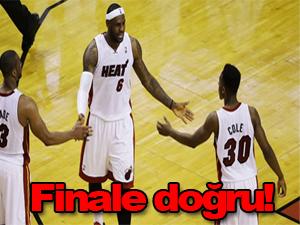 Miami Heat finale doğru