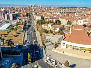 Malatya'da İstasyon Caddesi yenilendi