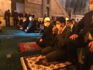 Necmettin Erbakan'ın vefatının 10. yılında Ayasofya Cami-i Kebir'de dualarla anıldı
