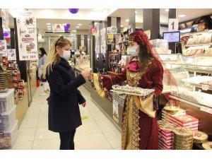 Türk Lokumu, Osmanlı gelenekleri ile tanıtıldı