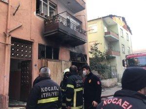 Bina deposunda çıkan yangında 1 kişi dumandan etkilendi