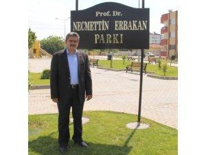 MHP İl Başkanı Alıcık, Erbakan'ı unutmadı
