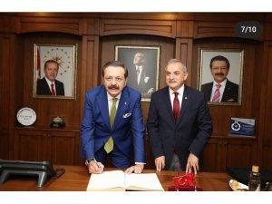 Hisarcıklıoğlu'ndan Şahin'e teşekkür
