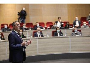 Başkan Arda, parti yöneticilerine 2 yıllık hizmetlerini anlattı