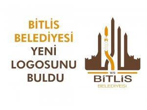 Bitlis Belediyesinin yeni logosu belirlendi