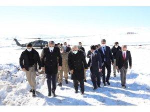 Bakan Yardımcısı Ersoy ve Jandarma Komutanı Çetin'den Bingöl'e  ziyaret