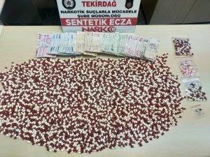 Tekirdağ'da 2 kişi uyuşturucudan tutuklandı