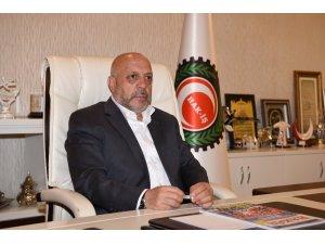 """HAK-İŞ Genel Başkanı Arslan: """"Antidemokratik müdahaleleri nefretle anıyoruz"""""""