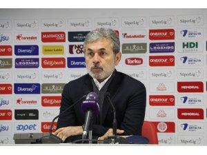 """Aykut Kocaman: """"Tek tesellimiz gol yemeden maçı bitirmek oldu"""""""