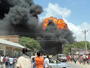 Camiye bombalı saldırı yapıldı