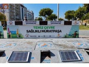 Muratpaşa'da akıllı konteynerler hizmette