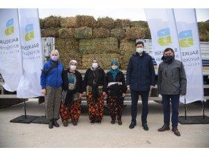 Balıkesir Büyükşehir Belediyesi'nden kadın girişimcilere yonca desteği