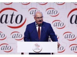 """ATO Başkanı Gürsel Baran: """"Pandemi koşullarında yüzde 1,8'lik büyüme başarıdır"""""""
