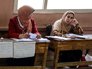 Mısır'daki seçimlerin üçüncü gününde de halk ilgisizdi