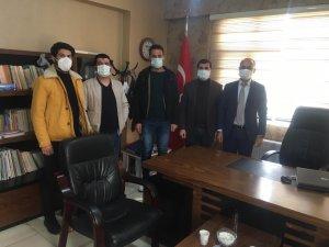 Sağlık Sen Şırnak Şube Başkan Yardımcısı Yalçın, İdil'de ziyaretlerde bulundu