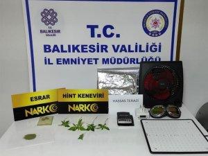 Balıkesir'de uyuşturucu operasyonunda 15 kişi yakalandı