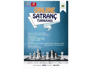 Osmangazi'den online satranç turnuvası