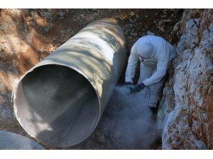 Torba'daki arızaya MUSKİ ekiplerinden anında müdahale