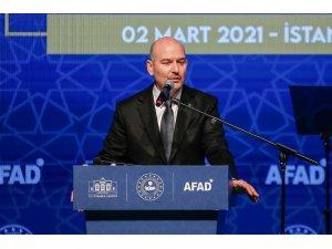 İçişleri Bakanı Süleyman Soylu, İstanbul İl Afet Risk Azaltma Planı programında konuştu