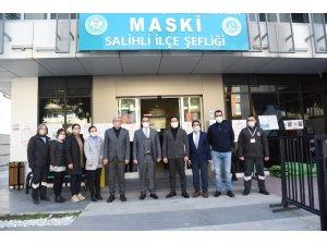 Genel Müdür Aslay Salihli'deki çalışmalar hakkında bilgi aldı