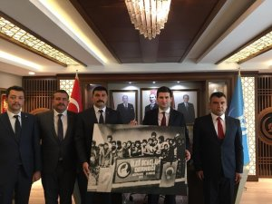 Adıyaman Ülkü Ocakları Başkanları Ankara'da