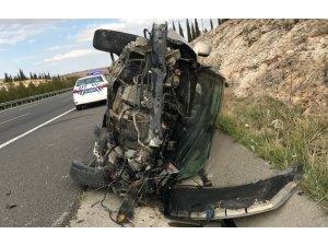 Şanlıurfa'da feci kaza: 1 ölü, 6 yaralı
