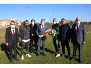 Milli Eğitim'den Kayserispor'a moral ziyareti