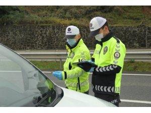 Ordu'da sürücülere kırmızı ışık ve hız cezası